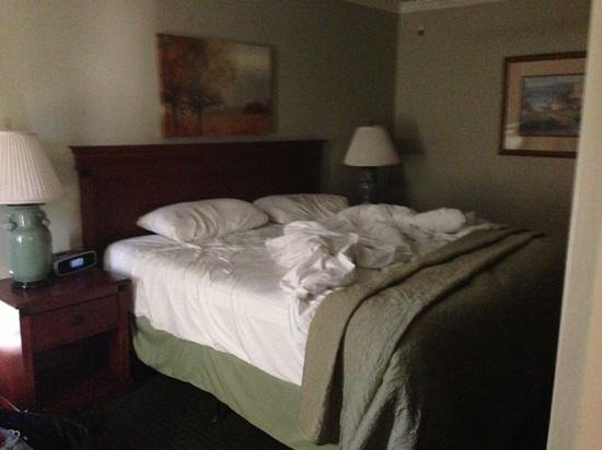 Brisas Del Mar, Inn At The Beach: bed where I slept like a baby.