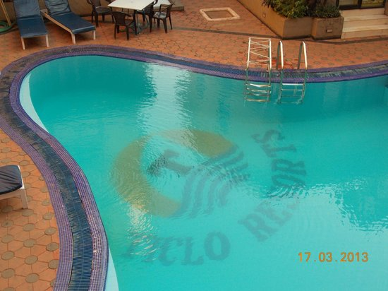 Ticlo Resorts: The pool from my balcony
