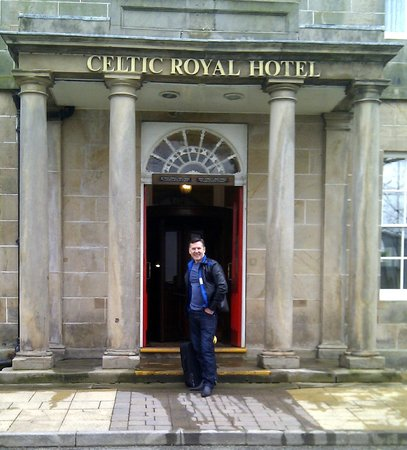 Celtic Royal Hotel: Hotel Entrance