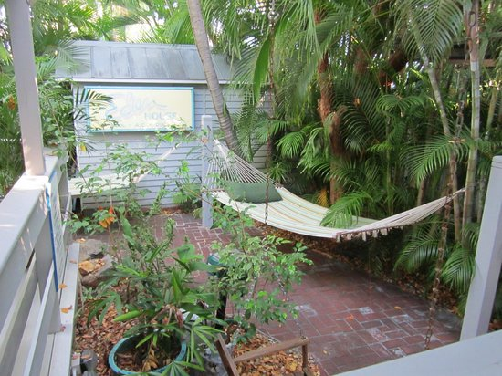 "Eden House: ""The Library"" - a quiet corner for hammock"