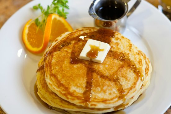 Wyoming Inn of Jackson Hole: The best stack of pancakes in Jackson Hole!