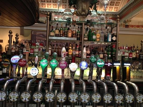 Beer, UK: a fine selection en sen bar