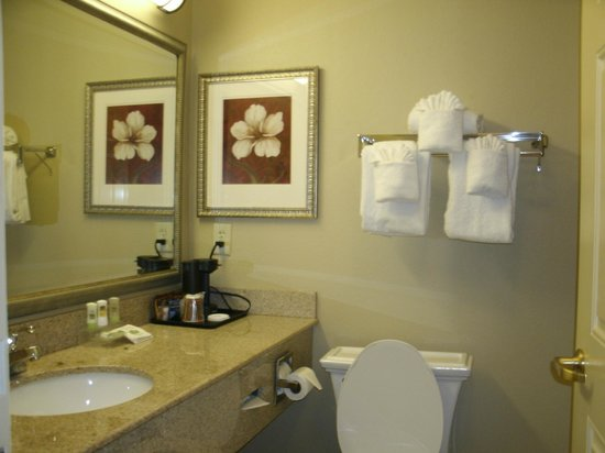Country Inn & Suites Myrtle Beach: bathroom kinda small