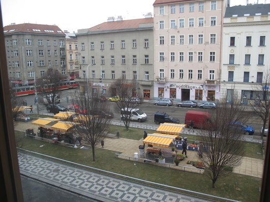 Clarion Hotel Prague City: View from room ....