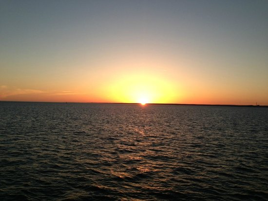 Orient, NY: Sunset from the ferry