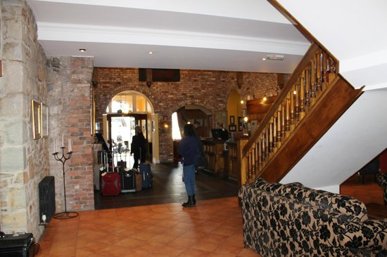 Celtic Royal Hotel: Spacious reception with seating areas