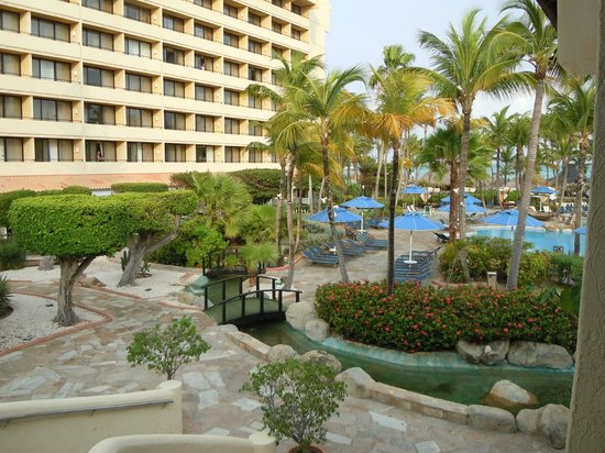 Occidental Grand Aruba: nice pool area