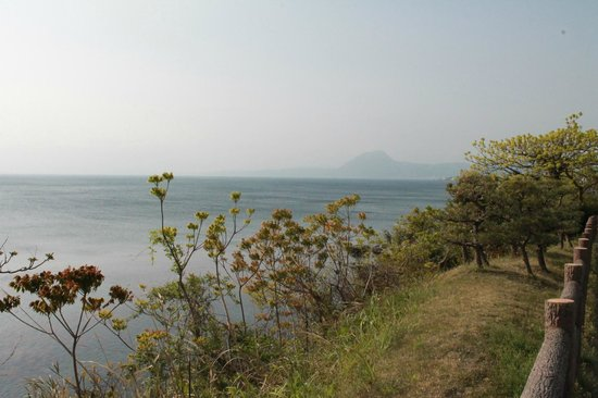Hiji-machi, Япония: A morning view of Beppu Bay
