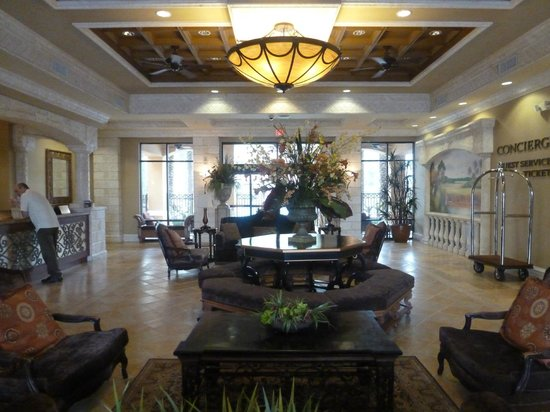 Floridays Resort Orlando: Main lobby