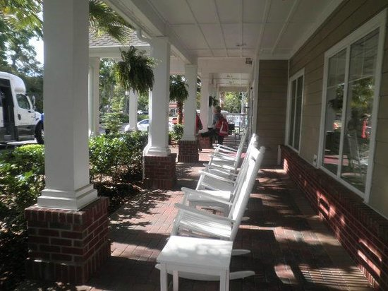Residence Inn Amelia Island: Porch
