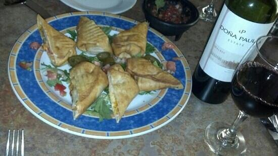 Pottstown, PA: Camaron Chimichangas