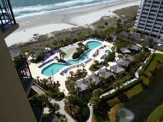 Hilton Myrtle Beach Resort: 11th floor from our patio