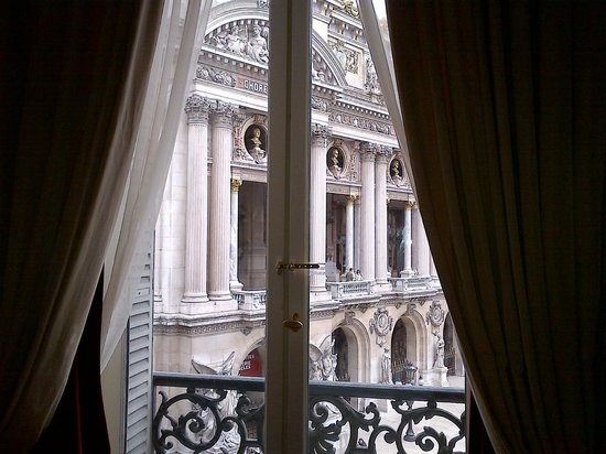 InterContinental Paris Le Grand: Morning View