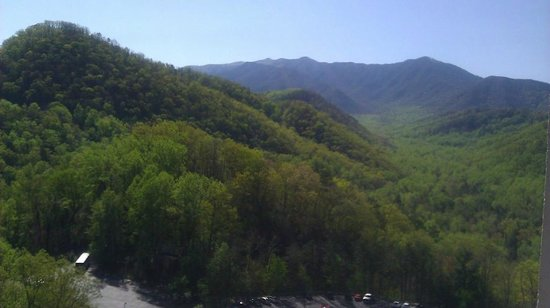 Park Vista - DoubleTree by Hilton Hotel - Gatlinburg: View from our balcony, room 1512