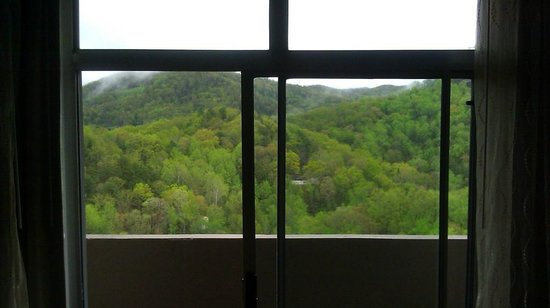 Park Vista - DoubleTree by Hilton Hotel - Gatlinburg: View from 15th floor room 1512