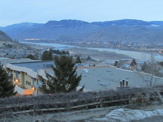 Howard Johnson Inn Kamloops: great view