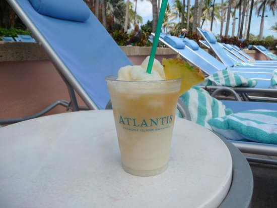 Atlantis - Coral Towers: another $11 Pina Colada