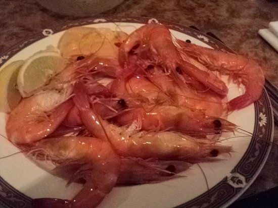 Crowne Plaza Surfers Paradise: very large prawns