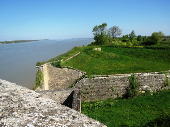 Blaye, : View from Citadelle
