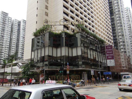 Hotel From Outside Picture Of City Garden Hotel Hong
