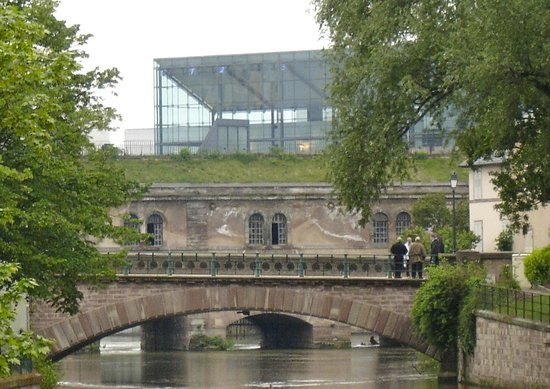 Mamc strasbourg view from barrage vauban picture of musee d 39 art moderne et contemporain - Musee art moderne strasbourg ...