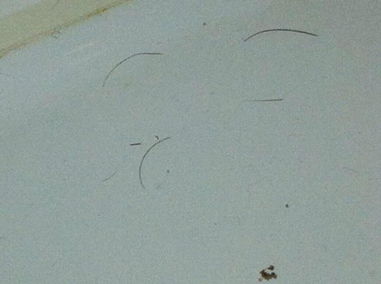 Britannia Hotel Newcastle Airport: Someone elses hairs in our bathroom !