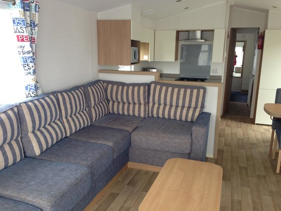 Grange-over-Sands, UK : Inside our lovely caravan 