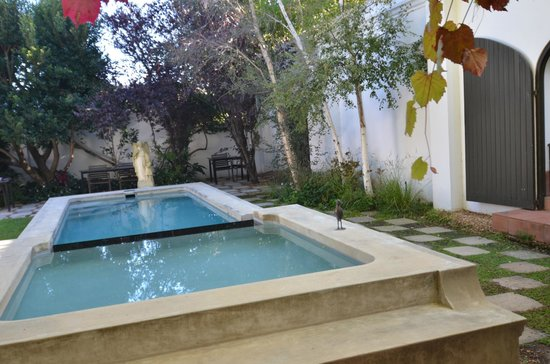 Akademie Street Boutique Hotel and Guesthouse: Pool Area by Breakfast Courtyard
