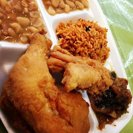Fabulous Fried Chicken / Beans / Rice EVERYTHING! - Picture of Martha ...