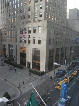 The Jewel Facing Rockefeller Center: view from rm 501 looking across to the rockerfella centre