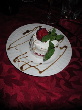 Riad Badi: One of the fabulous desserts prepared by Isabelle.