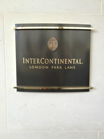 InterContinental London Park Lane: Intercontinental