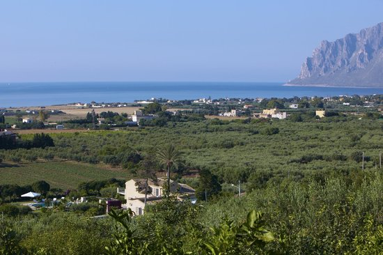 Valderice, Italie : Panorama 