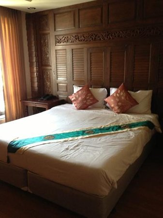 Lamphu Tree House: chambre