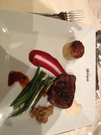 Metropole Hotel: beef course