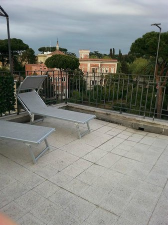 Relais 6: Unsere Dachterrasse
