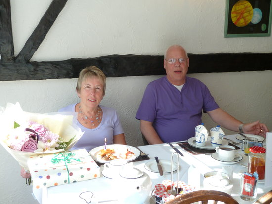 Camelot House: Birthday Breakfast At Camelot
