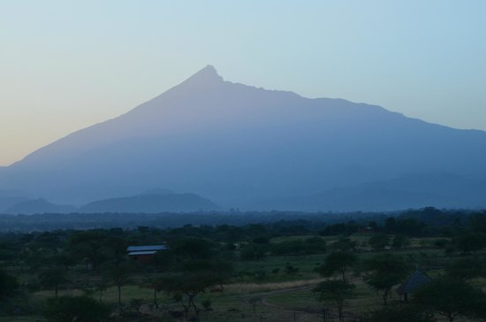 Arusha Region, Tanzania: A gorgeous view from the grounds
