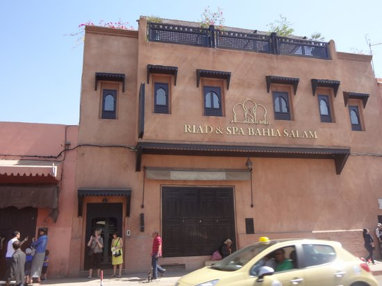 Riad Bahia Salam: From the front
