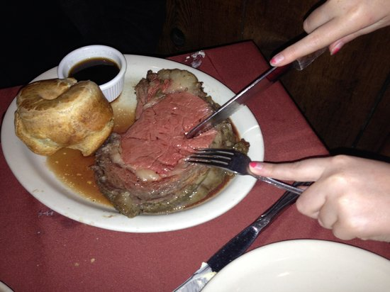 Albany, TX: The prime rib