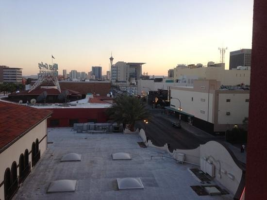 El Cortez Hotel & Casino: the view from tower room 413