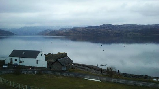 Tighnabruaich, UK: View from Room 2