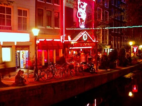 Rld At Night Picture Of Walking Amsterdam S Red Light