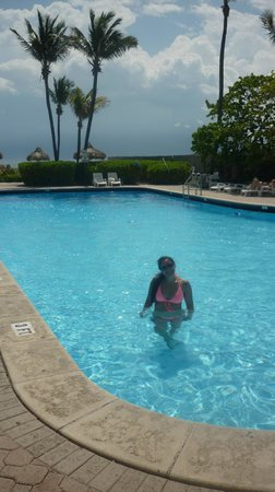 Thunderbird Beach Resort Hotel Miami: agua tibia