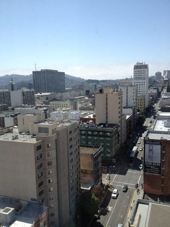 Serrano Hotel: view from 17th floor