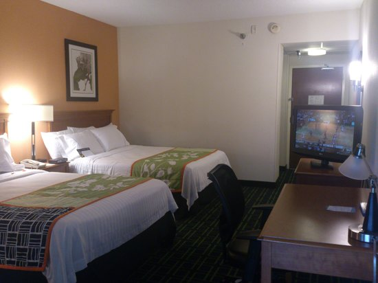 Fairfield Inn & Suites Pigeon Forge: Marriott doesn't dissapoint