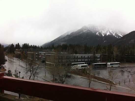 Inns Of Banff: View from balcony