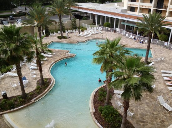 Holiday Inn Lake Buena Vista Downtown: A very clean and fun pool!