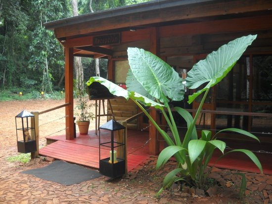 La Cantera Jungle Lodge : The entrance to the lodge 