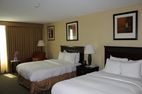 Hilton Lafayette: Chambre